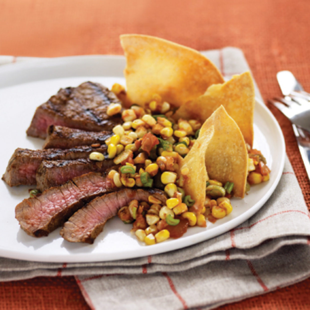 Chipotle Steak and Corn Salsa | Big Papi's Kitchen